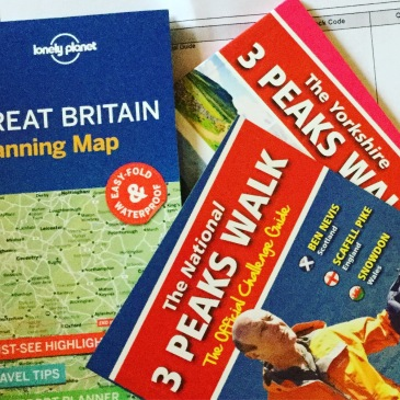 Yorkshire Three Peaks and The three Peaks Challenges maps and route cards 2018