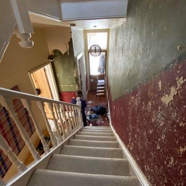 Victorian Hallway Resestoration